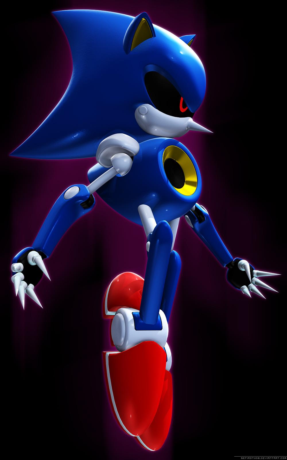 Metal Sonic Vs Emerl Dreager1s Blog