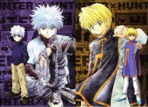 Killua vs Kurapika