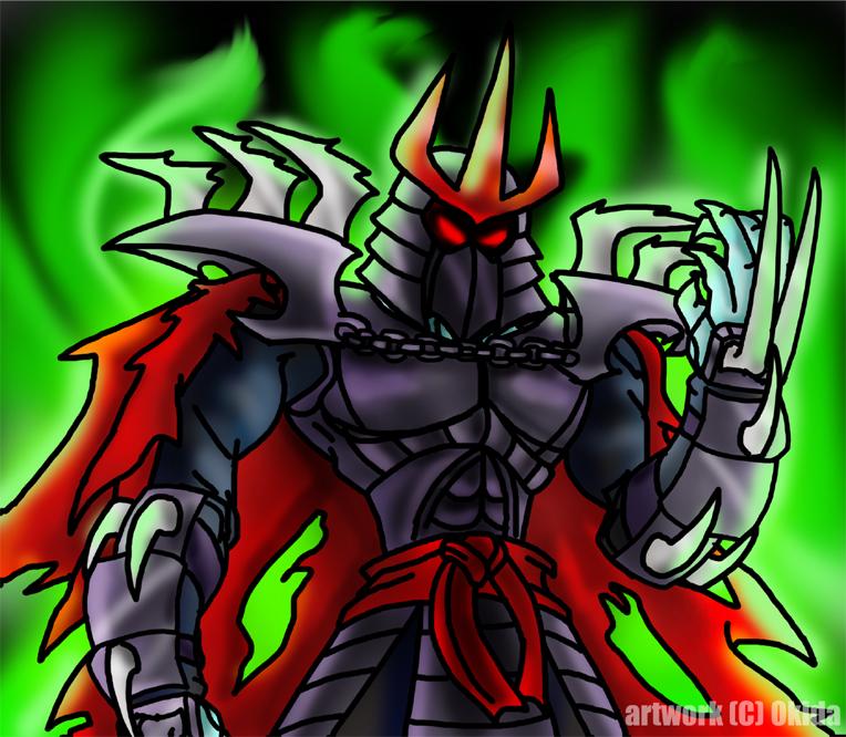 Shredder_Tengu_by_Okida