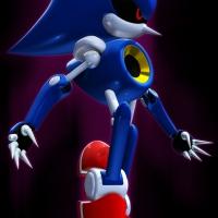 Metal Sonic vs Silver Sonic 2