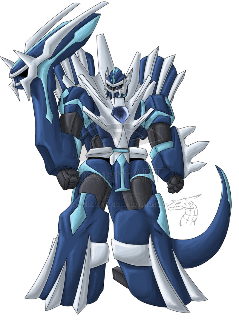 Dialga And Palkia Fusion Dialga vs Daken