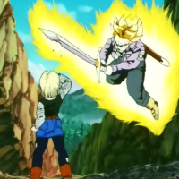 Trunks vs Android 18