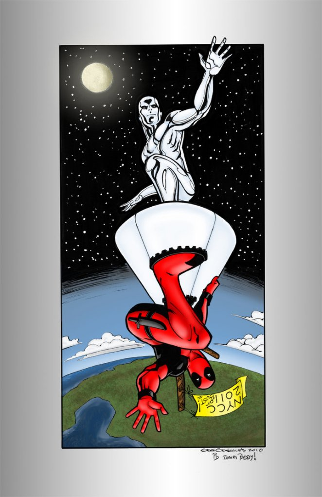 Silver Surfer vs Deadpool