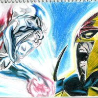 Silver Surfer vs Nova