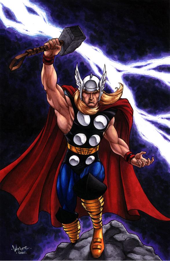 artwork gods lightning marvel - photo #23