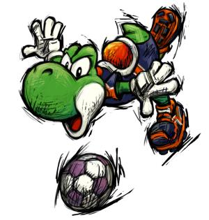 [Anuncio] ¿Por qué te gusta mucho Yoshi? - Página 2 Mario_smash_football_yoshi_artwork