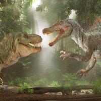 Spinosaurus vs T Rex
