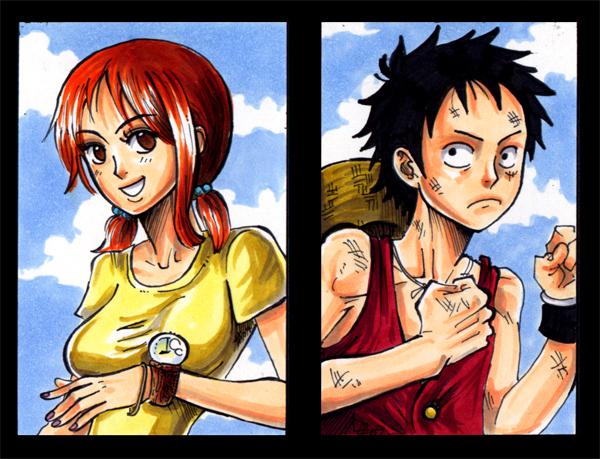 Luffy vs Nami – DReager1 com