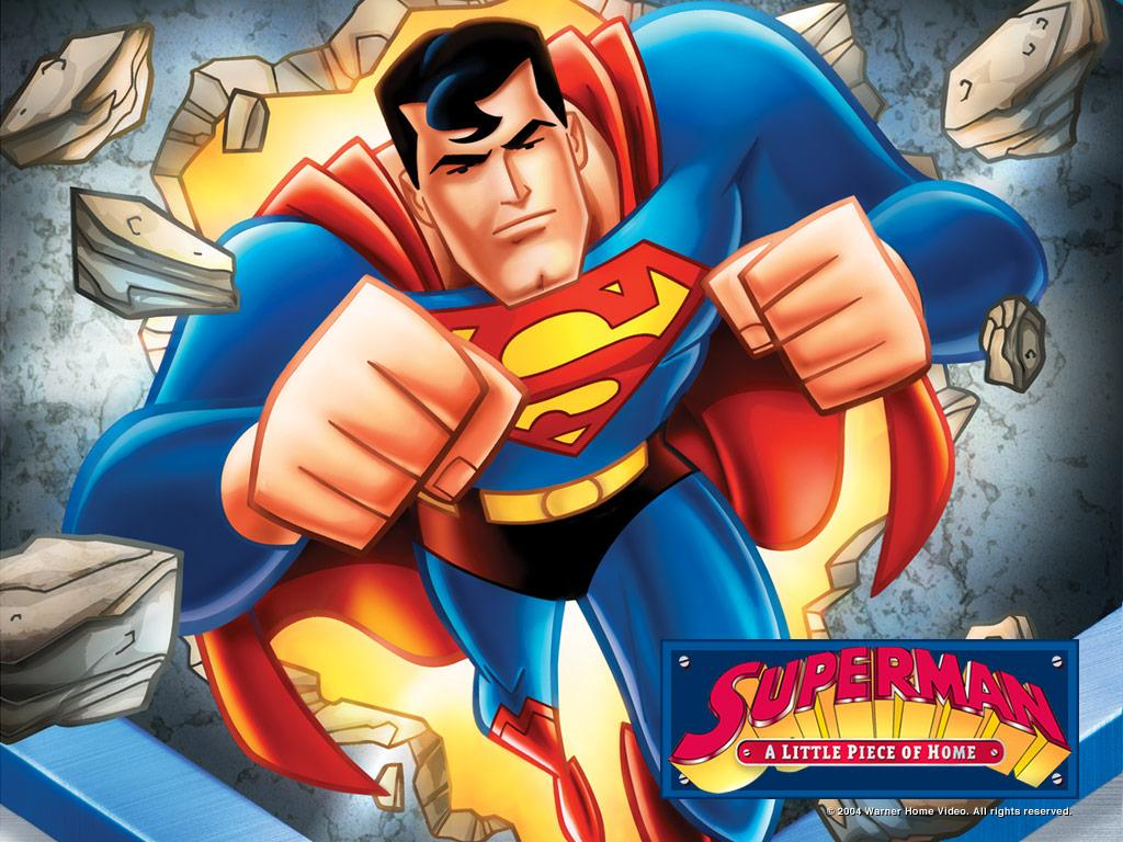 Superman the animated series review dreager s