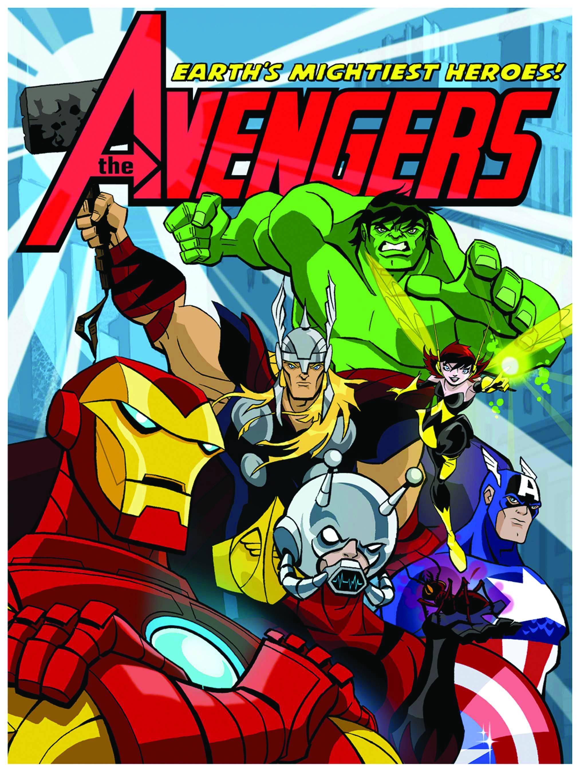 Marvel Cartoon | DReager1's Blog