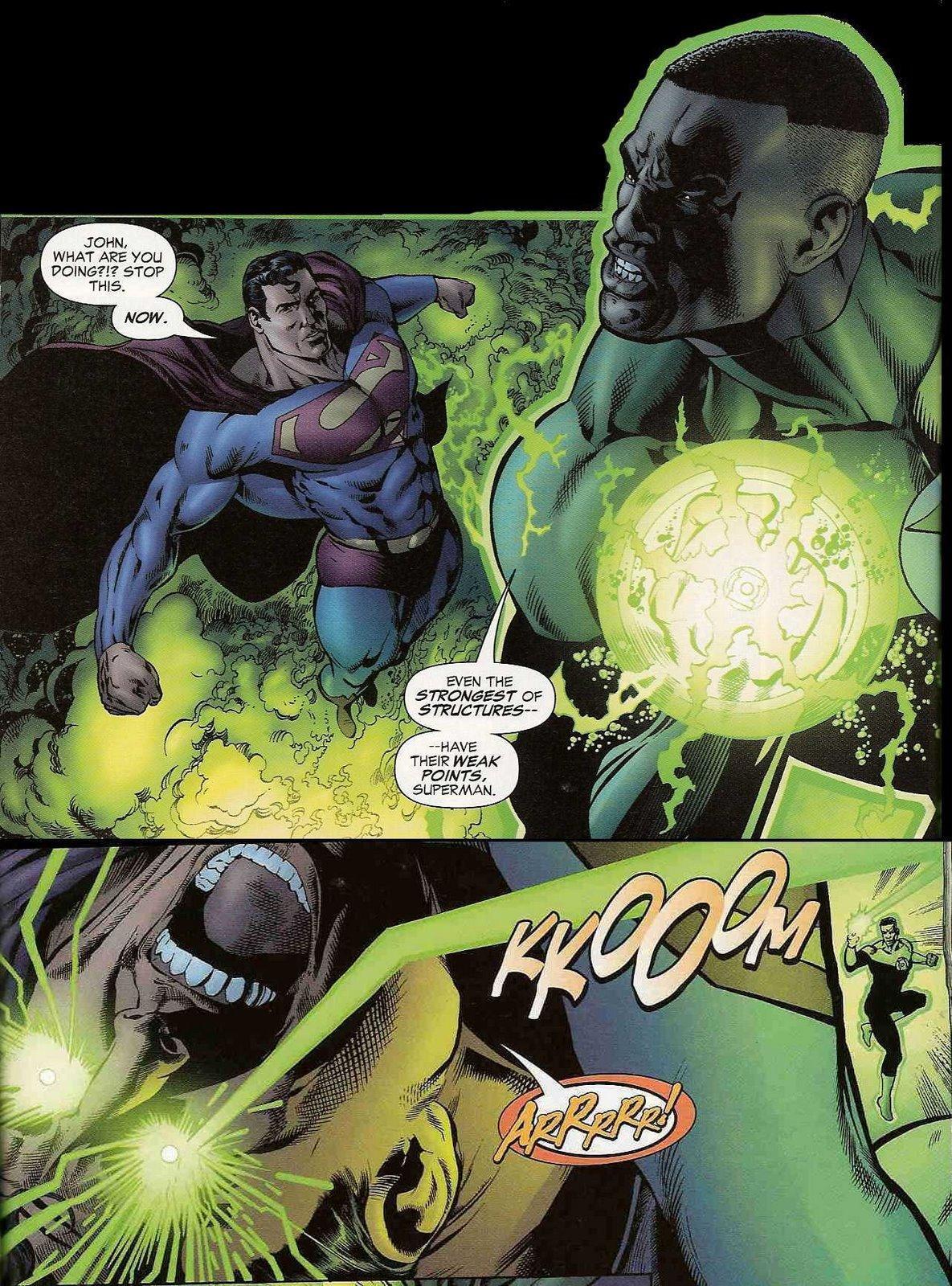 Superman vs green lantern - photo#6