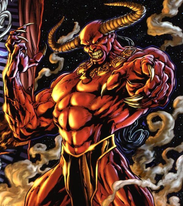 Trigon Vs Lucifer