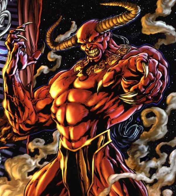Lucifer Morningstar Dc Comics: Mephisto Vs Lucifer
