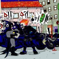 Batman vs Ghost Rider