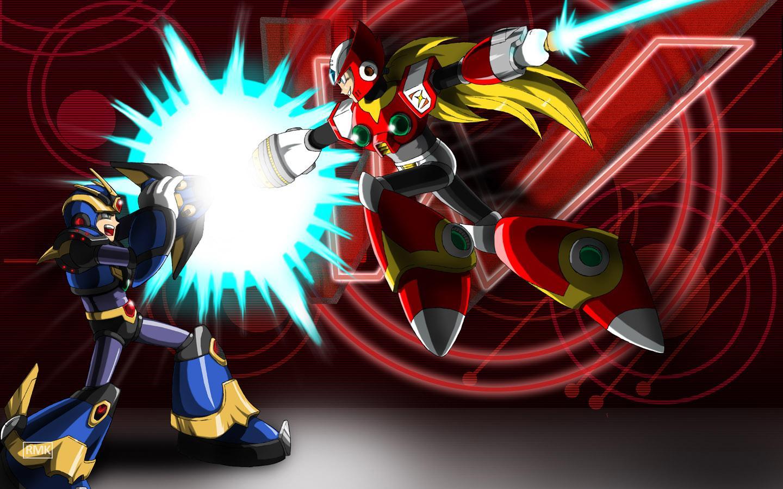 Megaman X vs Zero – DReager1 com