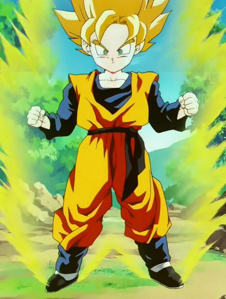 Dragon Ball Z Goten Super Saiyan