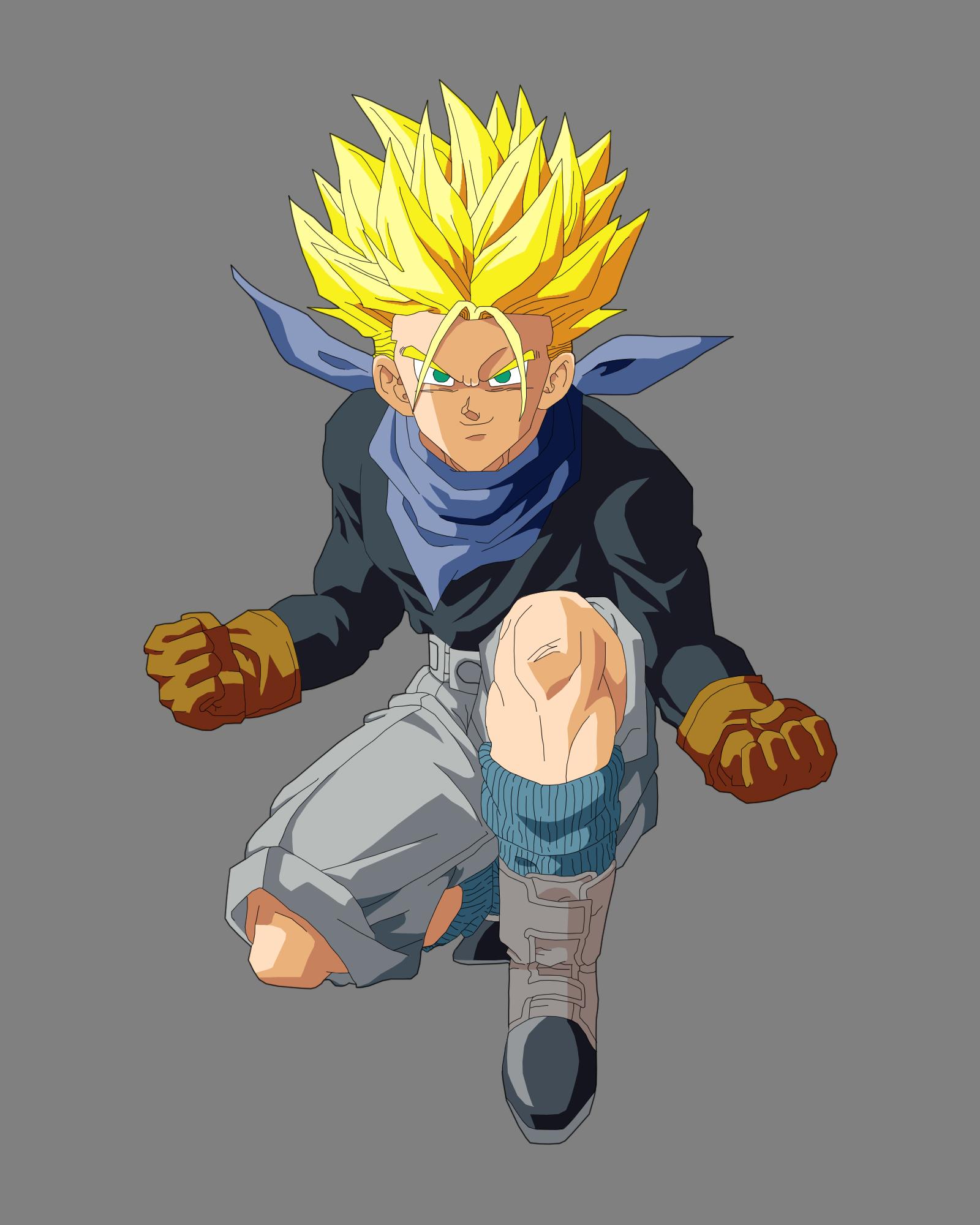 Dragon Ball Z GT Trunks