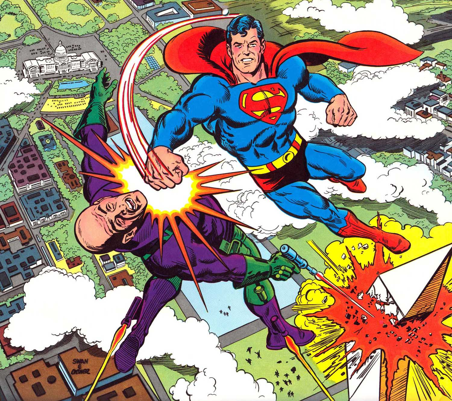 superman vs lex luthor dreager1s blog
