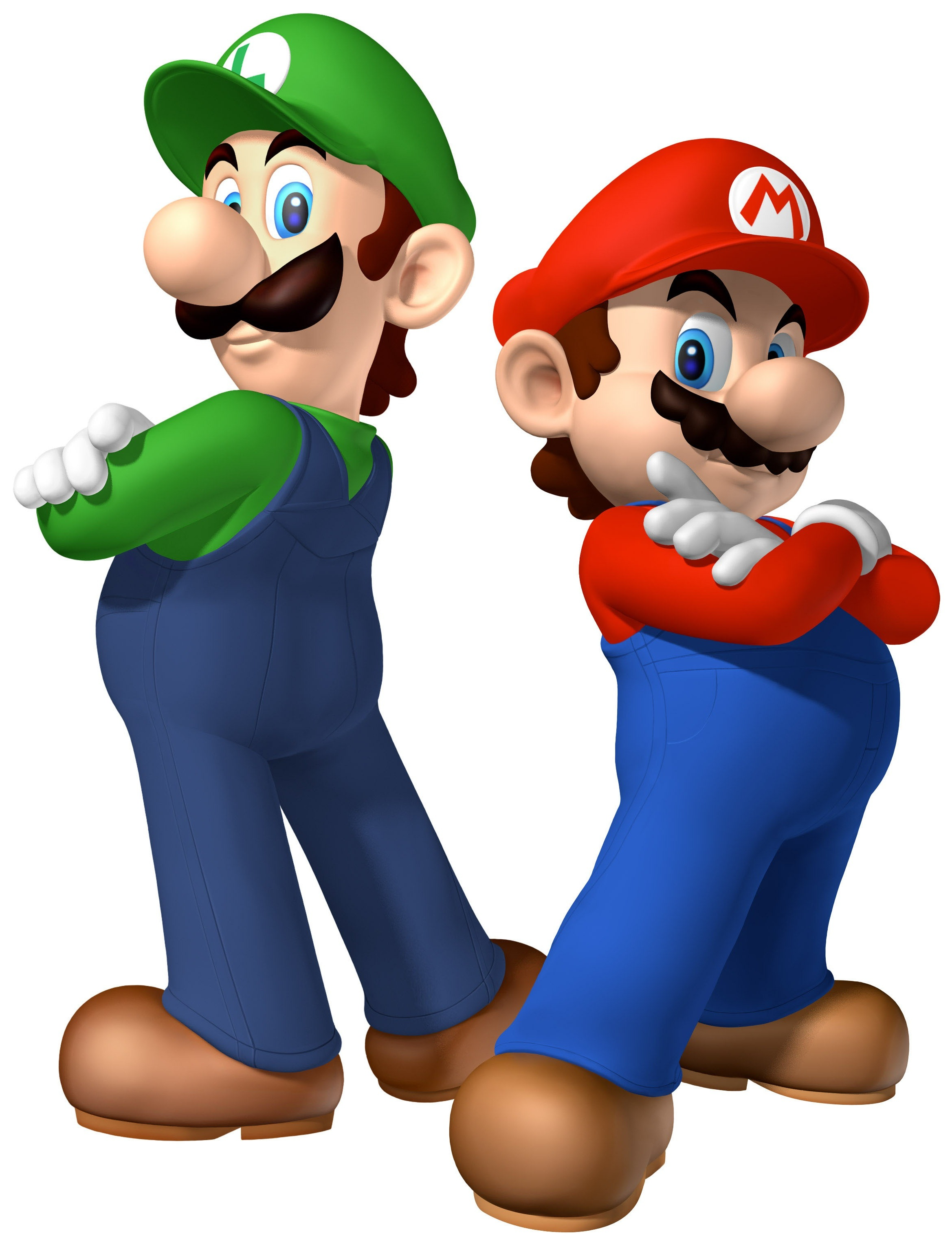 Mario vs Luigi   DReag...