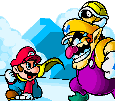 character battle Mario_vs_wario_by_doctorwalui