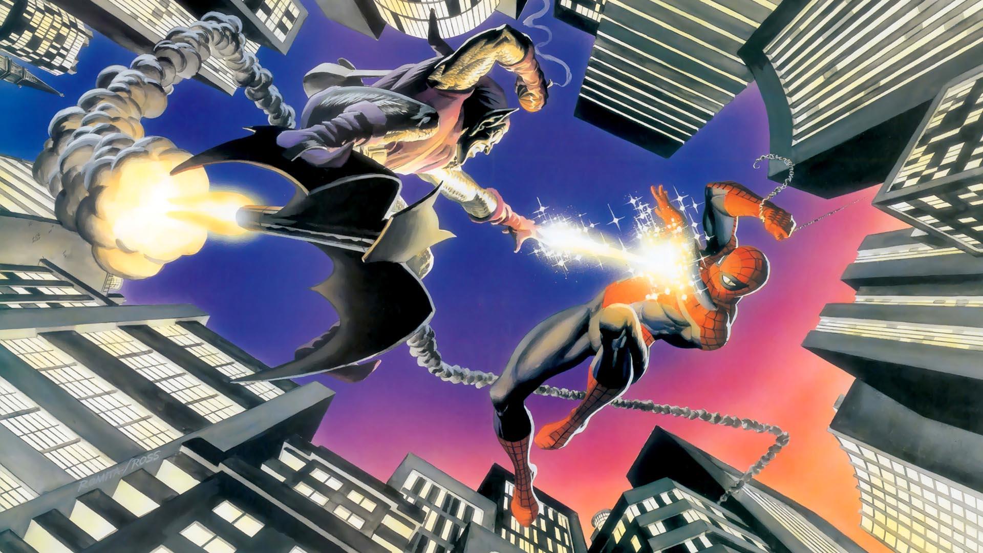 Spider-man-vs-Green-Goblin