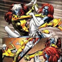 Mystique vs Rogue