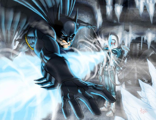 batman freeze