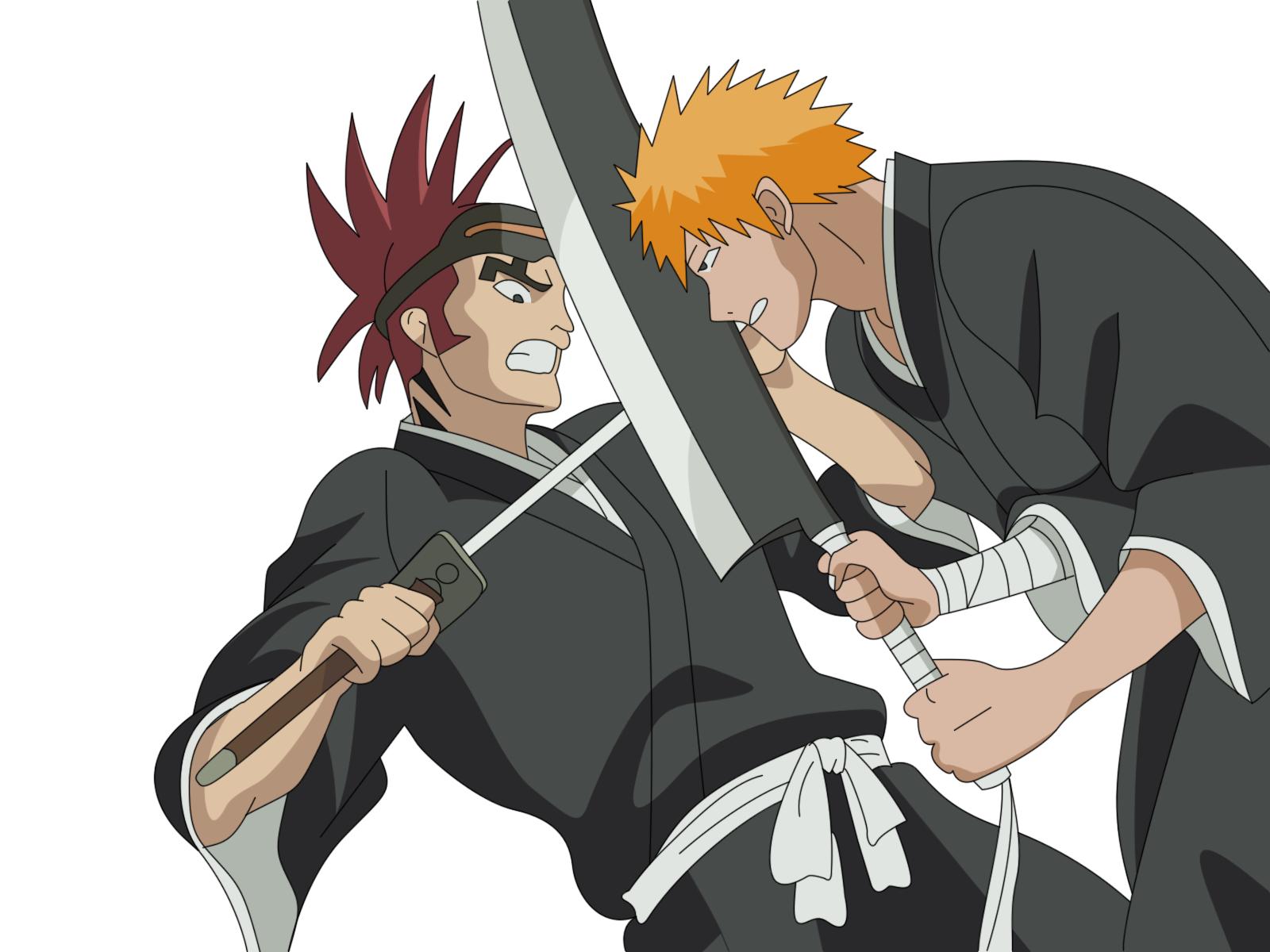 Renji vs Ichigo | DReager1's BlogIchigo X Renji