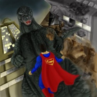 Godzilla vs Superman
