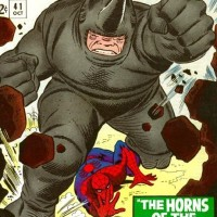 Spiderman vs Rhino