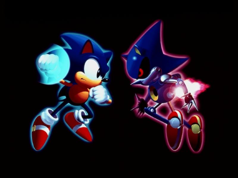 Sonic vs Metal Sonic | DReager1's Blog