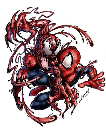 Spiderman vs carnage drawings - photo#34