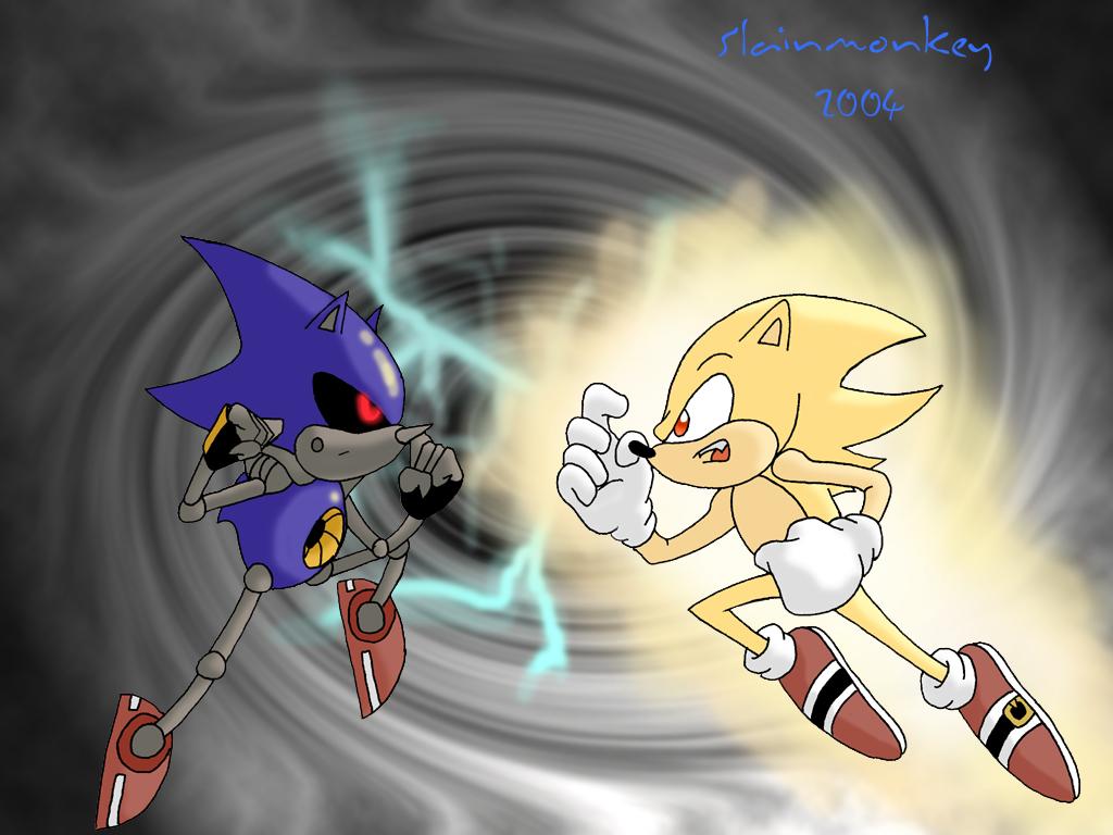 Sonic Vs Metal Sonic Dreager1s Blog