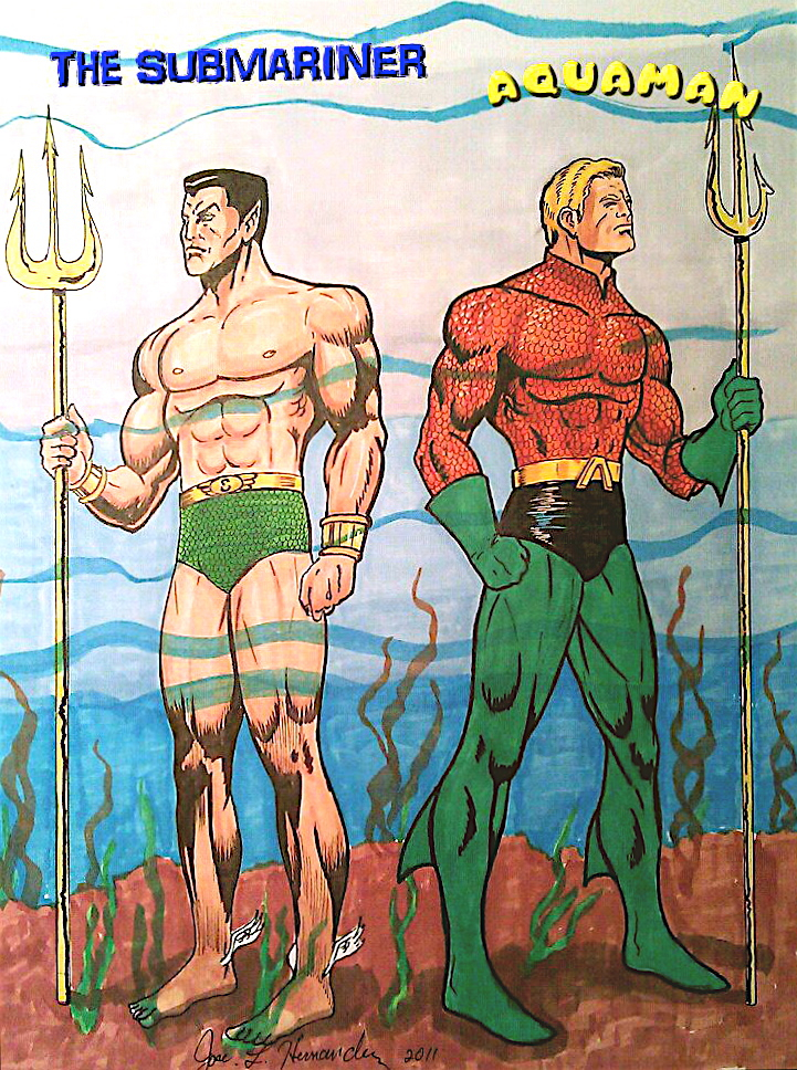 Who Did It Better Dcs Aquaman Or Marvels Namor And Who Should