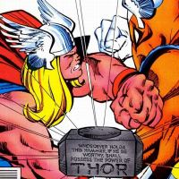 Beta Ray Bill vs Thor