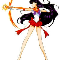 Sailor Mars vs Tengu Shredder