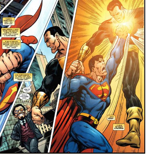Black Adam And Captain Marvel Vs Thor WW