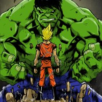 Goku vs Hulk