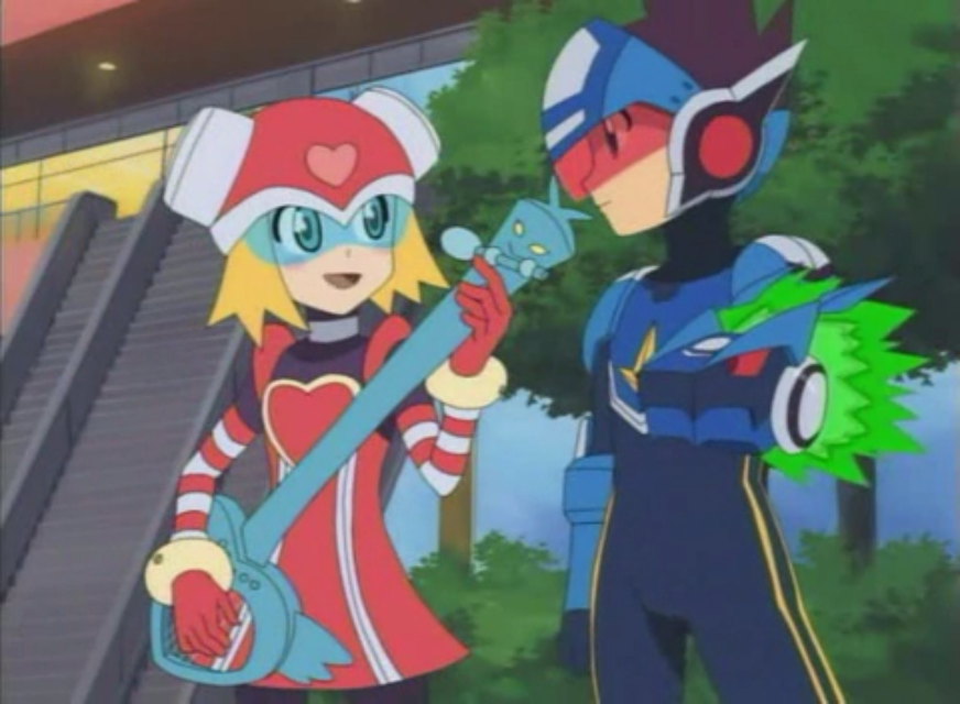 Megaman And Harp Note