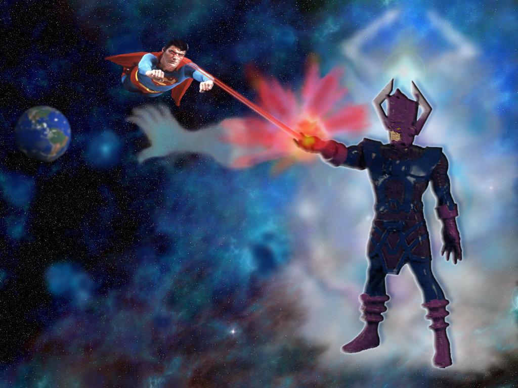 Superman vs Galactus – DReager1.com  Superman vs Gal...