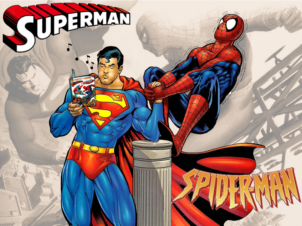 spiderman vs superman game