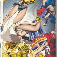 Wonder Woman vs Big Barda