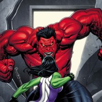 Red Hulk vs She Hulk