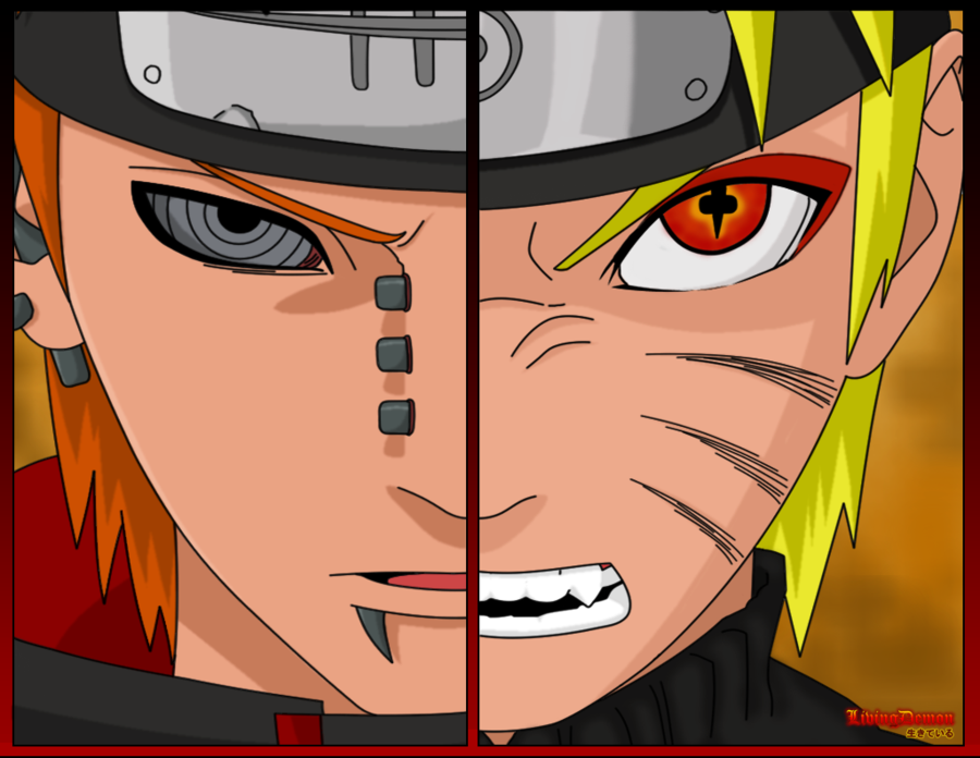Naruto vs Pain – DReager1 com