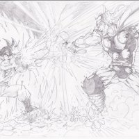 Thor vs Goku