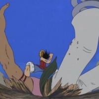 Bellamy vs Luffy