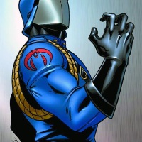 Cobra Commander vs Snake