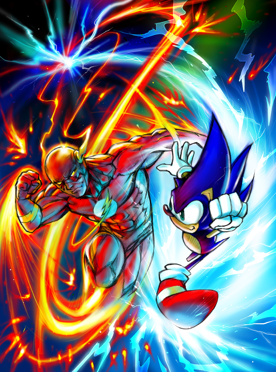 flash vs sonic -#main