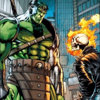 Hulk vs Ghost Rider