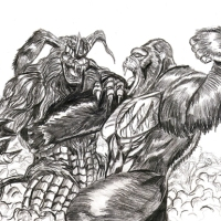 King Caesar vs King Kong